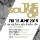 "Dikke Ronny at ""The Sound of Bocca vs AB"" at Wood (Brussels-Belgium) - 12 June 2015"