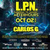 L.P.N - Sunday Mornings Live @ Heart Nightclub (10-02-16)