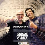 CHINA & CARLOS MANAÇA @ RAVEOLUTIONS RADIO SHOW