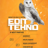 Live @ Edit:Tehno, KPTM Club 080314