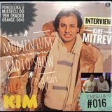 Emisija 016: Muzika ispred svog vremena - intervju Kire Mitrev (grupa KIM) yugoslavia