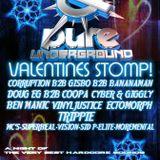 Pure Underground Valentine Stomp 14/2/14