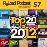 ReLoad Podcast 057 : Top 20 of 2012