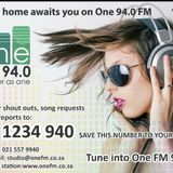 One FM 94.0 - Kevin Jones and Justin Croucher talks to Gideon Joubert from Gun Owners of South Afric