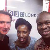 Edward Adoo & Jacqueline Harvey  - BBC London - Simon Lederman Late Show