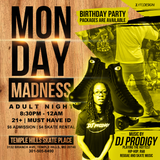 MONDAY MADNESS MAY 21 @ TEMPLE HILLS SKATE PALACE