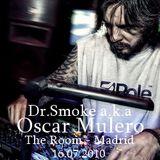 Dr.Smoke a.k.a Oscar Mulero - Live @ The Room, Madrid (16.07.2010)