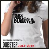 dj komma presents... DUBSTEP July 2012