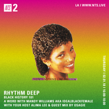 Rhythm Deep w/ Alima Lee, IdealBlackFemale and Osagie - 1st February 2018