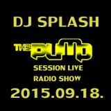 Dj Splash (Lynx Sharp) - Pump Session Live Radio Show 2015.09.18.