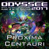 Proxima Centauri @ Odyssee 2017 Berlin - Goa Roof [New Years Eve]