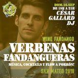 César Gallard Dj @ Wine Fandango 16/09/18
