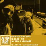 Alpha Beat #9 w/ Deiv & Leonard P
