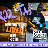 2018-11-2 Essential Flavors show 178 with Kool Taj in the Structure