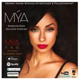 Shoeshine Radio Exclusive with Grammy Award Winning Recording Artist Mya