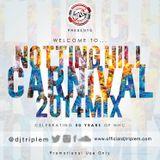 Dj Triple M - Notting Hill Carnival 2014 Mix