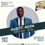 Nosa on Losing his Father, Hiatus and More on #WhatsUpLagos w/ Flo