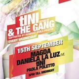 Daniela La Luz LIVE with tINI & the Gang [Magda & tINI (desolat)] @ Ushuaia / Ibiza
