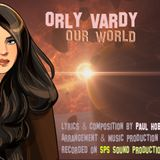 Orly Vardy interviewing on Talk Radio with Dave Hodgson - OUR WORLD 10.07.17