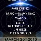 Paul Kuenzi - Live @ Converge, Buffalo NY 3.20.15