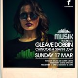 Musik Sunday's St. Patricks Special @ Thompsons feat Gleave 17-3-19