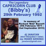 Bibby's Capricorn Club 29th February 1992