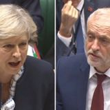 PMQ Westminster 13th December, 2017 - Homelessness - Jeremy Corbyn and Theresa May