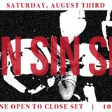 Open to close set @ SIN at Kremwerk Seattle 08/03/19
