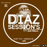 DDiaz Recordings : DDiaz Sessions 011 Mix / Cecilia Bu.