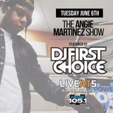 Live At 5 on Power 105.1 w/ Angie Martinez - June 6, 2017
