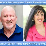 Walt Interviews Anna Perdriau – A Chat With The Speaking Stylist
