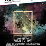 James Holden - Live at We Love Sonique, Grand Halle de la Villette, Paris (05-06-2010)