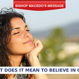 Day 4 - What does it mean to believe in God?
