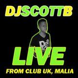 DJ Scott B presents The Baron, LIVE at Club UK, Malia, Crete, Greece, 2006