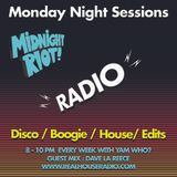 Midnight Riot Radio with  guest Dave La Reece & host Yam Who?