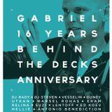Gabriel Del Live @ Gabriel 16 Years Behind The Decks Anniversary Chervilo Sofia 04-09-2015 Part 1