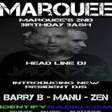Marquee's Birthday Bash Mix - Manu