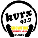 Showtime with Robert & Blake - April 24th, 2013 (KVRX 91.7)