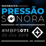 Pressão Sonora - 20-07-2019