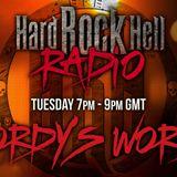 WordysWorld Tuesday night Radio Show aired on 4 April 2017 on Hard Rock Hell Radio