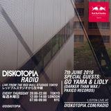 Diskotopia Radio 7th July 2016 w/ Go Yama & Lidly