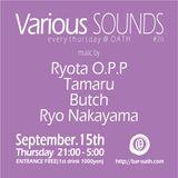 Mixing at VARIOUS Sounds #26 (15th September 2016)