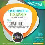 GRATITUD Estado de Vida Permanente    11-20-2017
