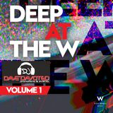 VOL 1 DEEP AT THE W MIXED LIVE BY DJ DAVE DAVOTED 2016