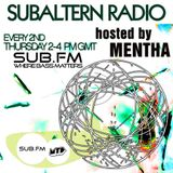 Mentha - Subaltern Radio 03/04/2014 on SUB.FM