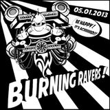 DJ GALISH (mix electro breakz) @ BURNING RAVERS 05.01.2013