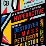 T-Mass@Hyperactive,club K2 České Budějovice