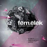 Live In FemElek In Barcelona