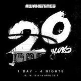 2000 and One & Bart Skils @ Awakenings 20Y anniversary Night 2  ( 14-04-2017 )