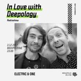 In Love with Deepology @ Megapolis 89,5 FM Moscow (03.12.2017)